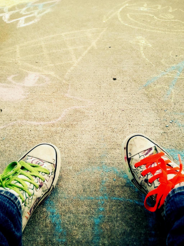 Walkin' and chalkin' by splee568