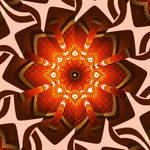 Chrysanthemum Kimono Motif