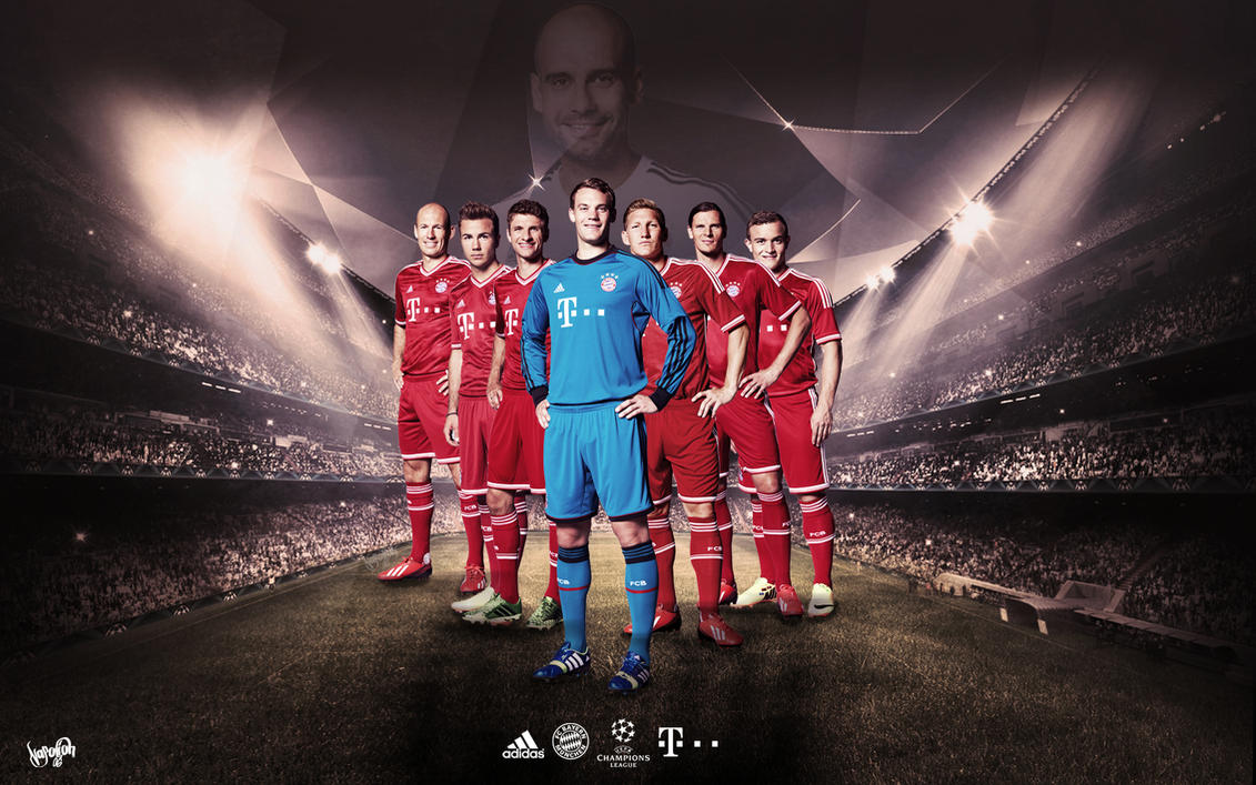 Bayern Munih CL Wallpaper by napolion06