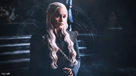 Daenerys Targaryen Wallpaper by napolion06