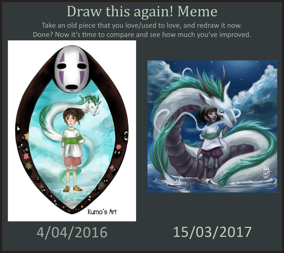 Draw This Again Chihiro by Kumito93