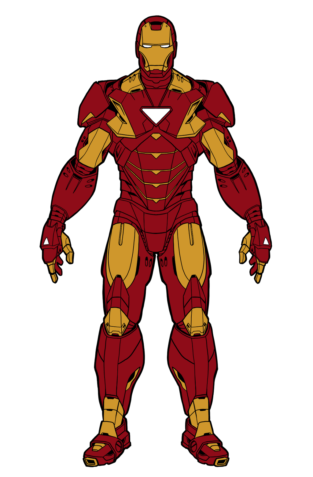 Iron Man Cartoon Drawing Full Body | www.imgkid.com - The ...
