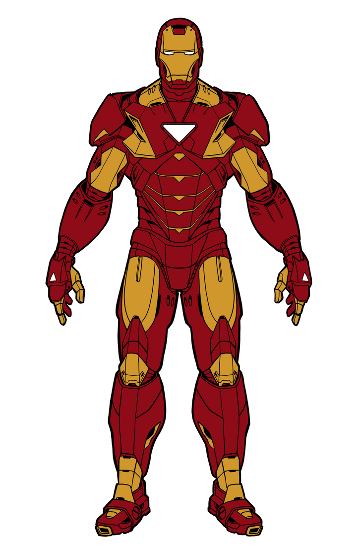 Iron Man by illustrationoverdose on DeviantArt Iron Man Avengers Full Body