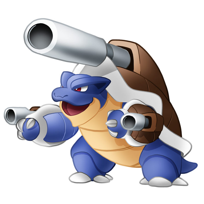 Pokemon 009M - Mega Blastoise by illustrationoverdose on ...