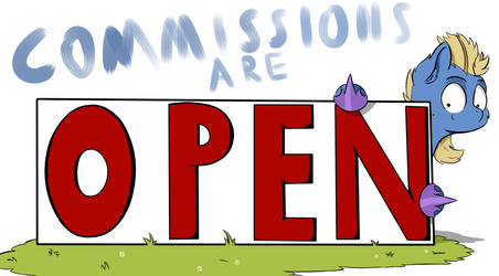 Comissions Open!