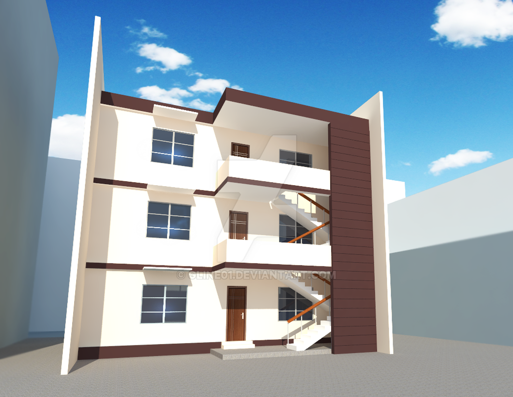 Proposed 3 storey apartment by gline01