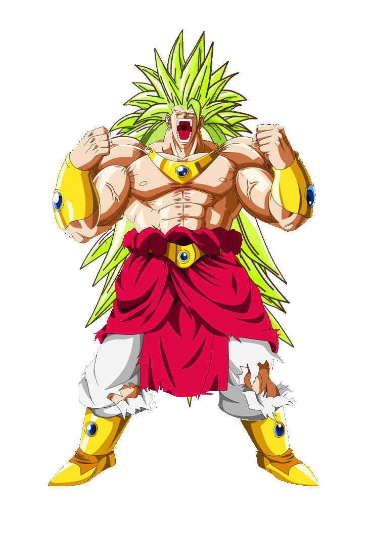 Dibujos Para Colorear Super Saiyan Goku Y Broly Tattoo