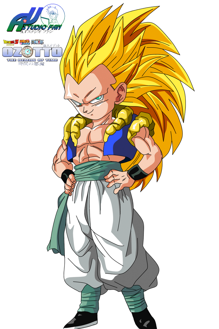 GOTENKS SSJ3 by a-vstudiofan Gotenks Ssj3