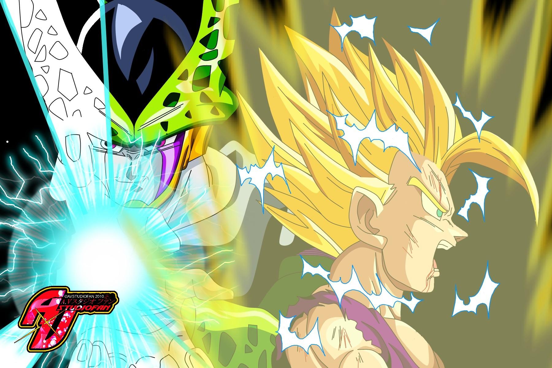 Who was, Goku vs teen gohan