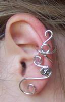 Swarovski Ear Cuff by LiquidSilver1