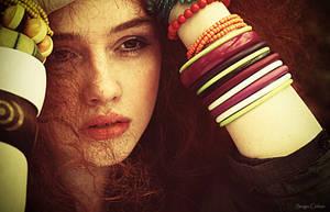 lady in red .... by Sssssergiu