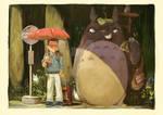 GiftFan Art : Kidnapper Totoro