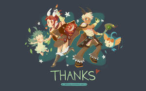 RO Wallpaper: Thank You by ashiong