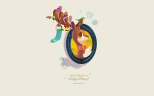 Wallpaper: Dear My Deer by ashiong