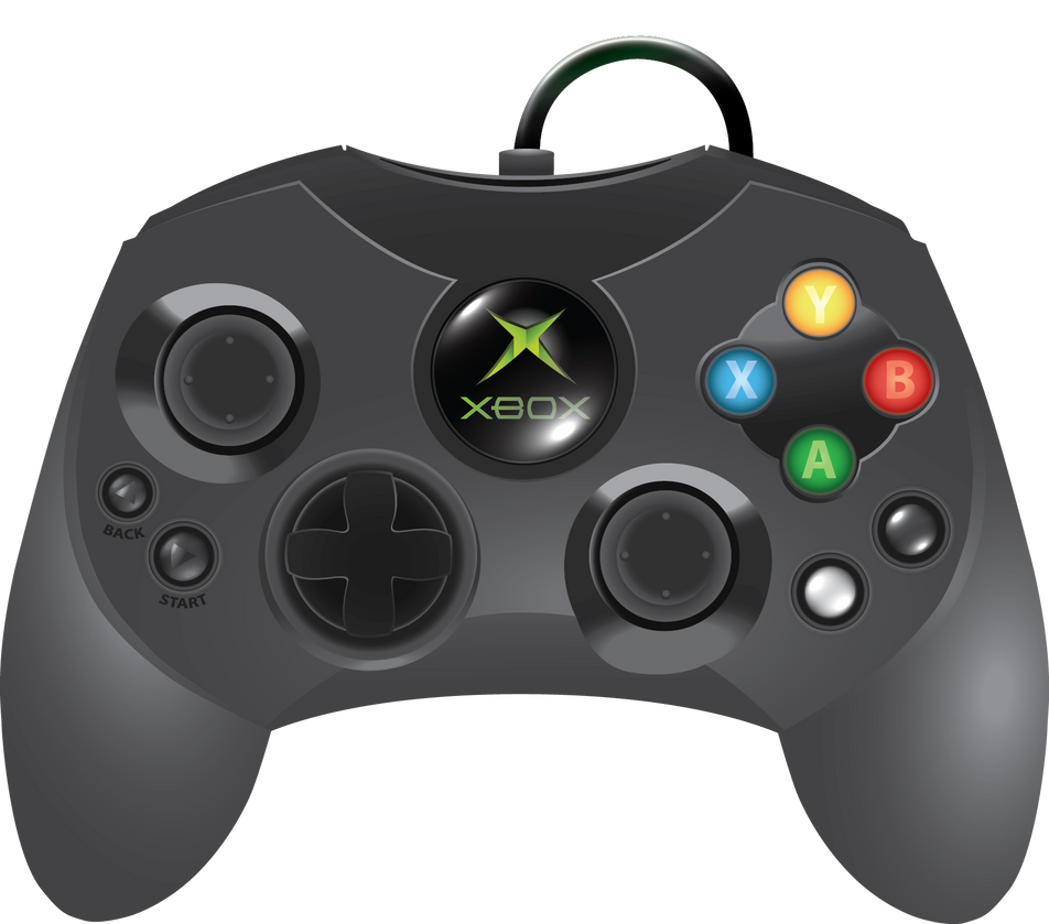 Classic Xbox controller S in Vector by Nelphine on DeviantArt