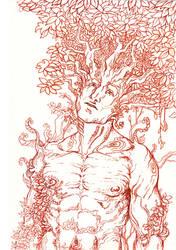 Tree Man by Remietc