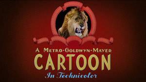 MGM Cartoons 1946-1948 logo in HD