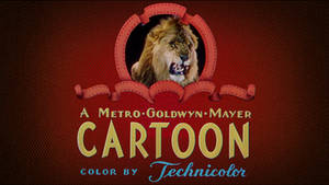 MGM Cartoons 1948-1952 logo in HD