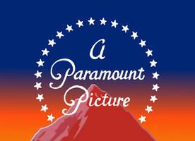 1945 Paramount Cartoon logo (sunset version) by MalekMasoud