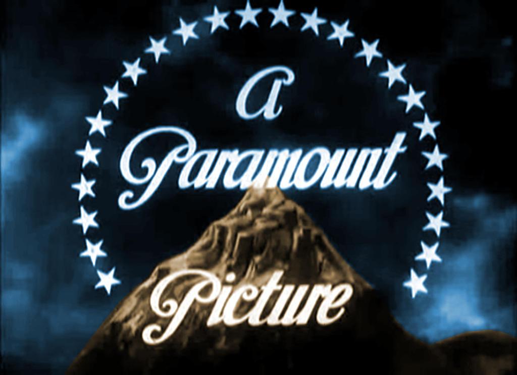 paramount logo black and white - photo #27