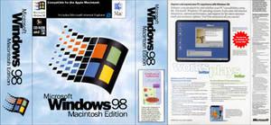 Microsoft Windows 98 - Macintosh Edition (box) by MalekMasoud