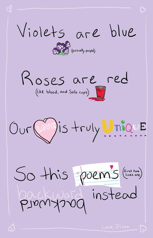 valentines day handwritten love poem by discovonmoody