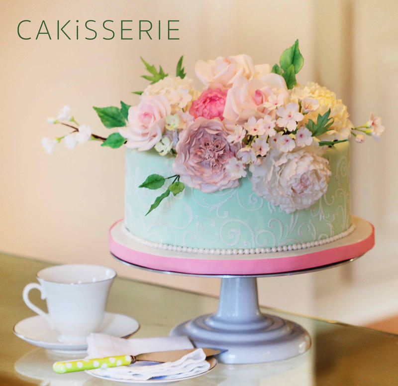 Mothers-Day-Sugar-Flower-Bouquet-Cake by cakisserie on DeviantArt