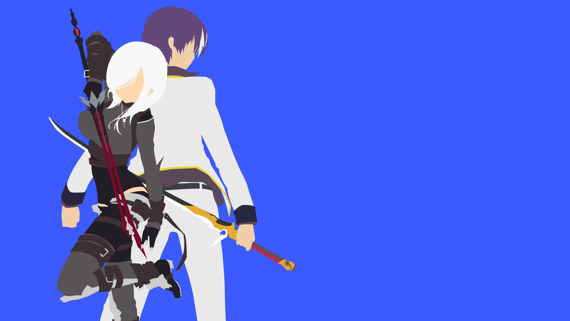Seiken Tsukai No World Break Minimalist By Anoanidude On