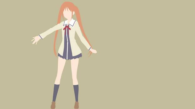 Aho Girl (Yoshiko Hanabatake) - Minimalist