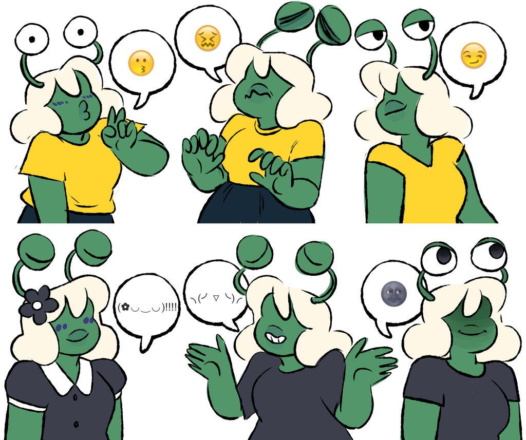 Emojis by effsie