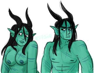 Horns by effsie