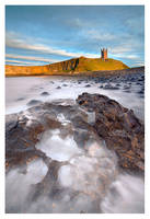 Dunstanburgh Castle by SebastianKraus
