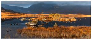Lochan na h-Achlaise - Panorama