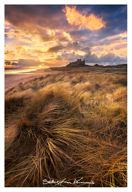 Bamburgh Castle by SebastianKraus
