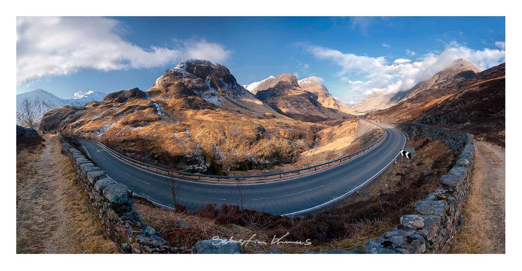 Glencoe Panorama by SebastianKraus