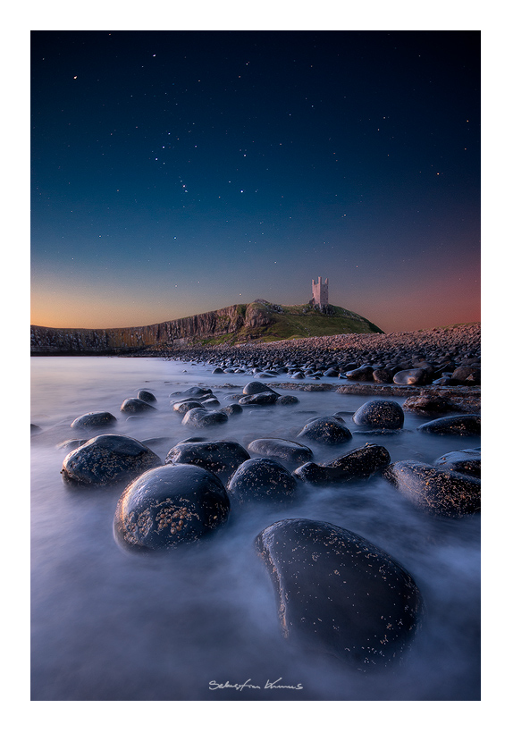 Dunstanburgh Castle by SebastianKraus