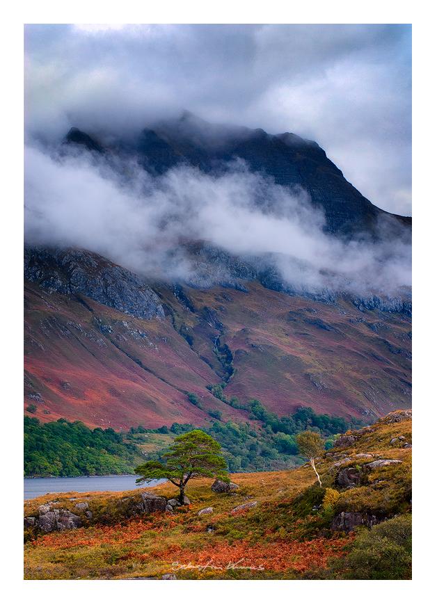 Loch Mare and Slioch by SebastianKraus