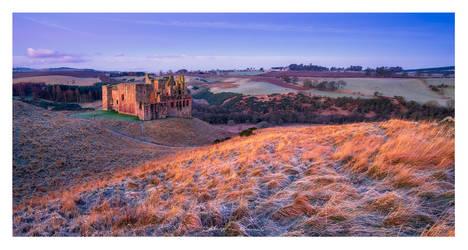 Crichton Castle by SebastianKraus
