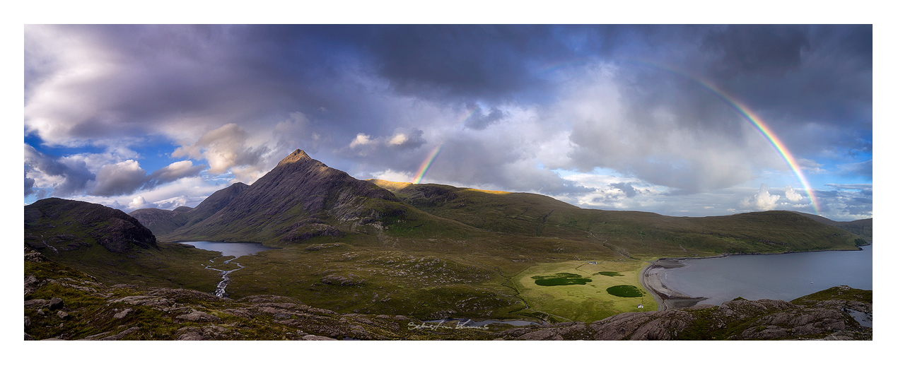 Bla Bheinn and Camasunary by SebastianKraus