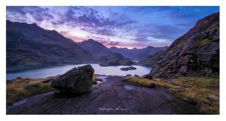 Loch nan Leachd by SebastianKraus