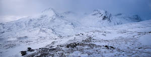 Winter view in Torridon