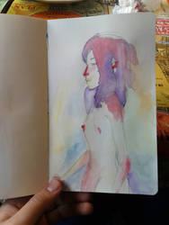 watercolor sketchbook by marko-kun-astur