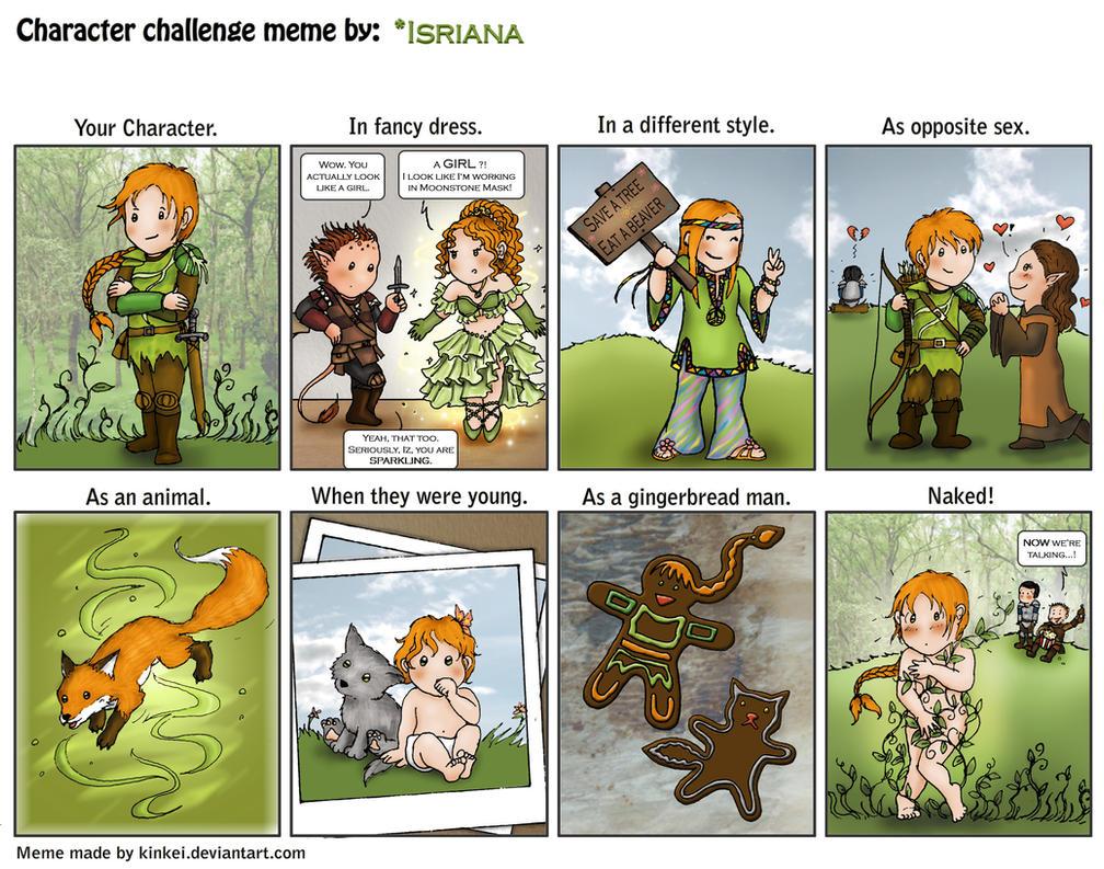 Character Design Challenge Deviantart : Character challenge izalie by isriana on deviantart