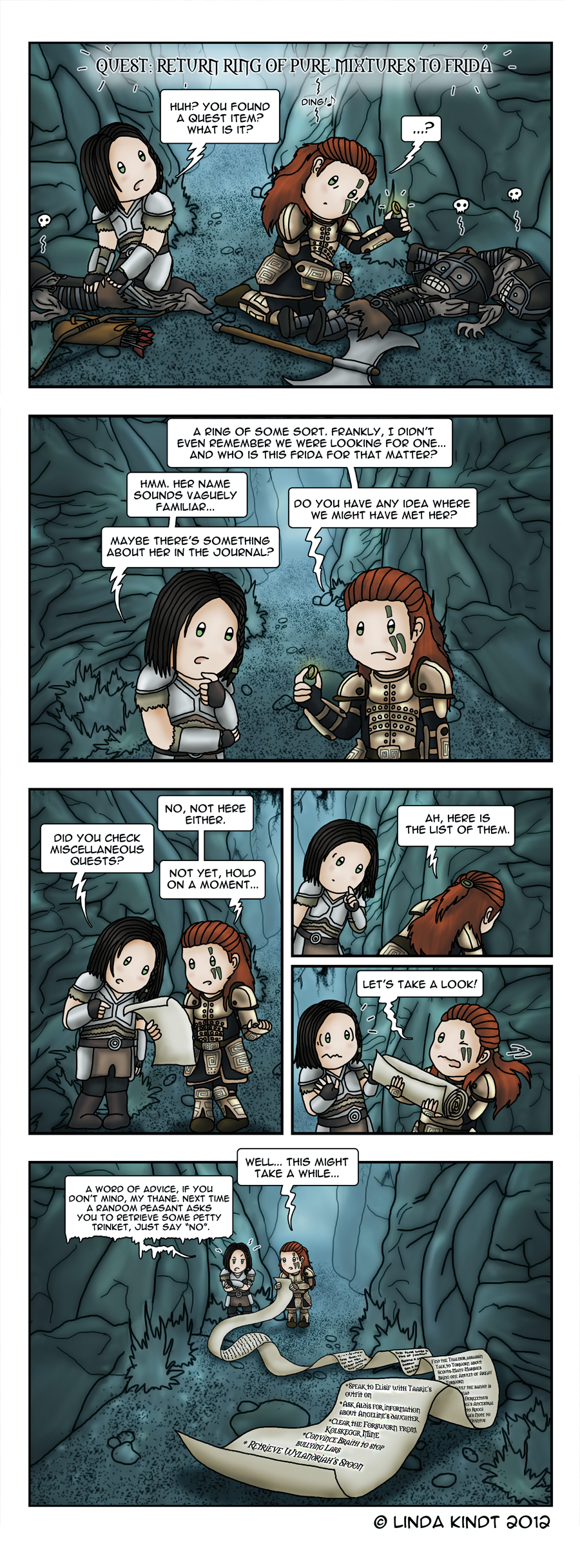 Skyrim: Quest Overload by Isriana on DeviantArt