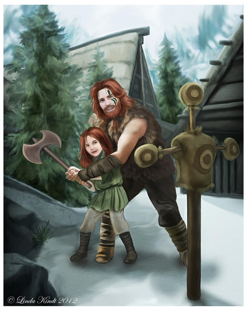 Dovahkiin-in-training by Isriana