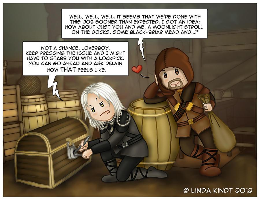 Skyrim: No Love For Dovahkiin by Isriana