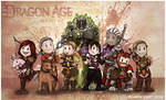 Dragon Age Origins: The Party