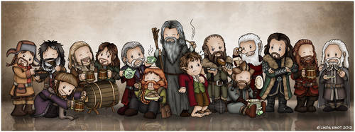 Enough Dwarves For You Yet, Gandalf? by Isriana