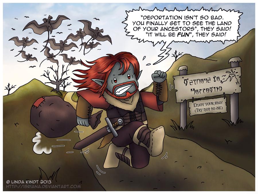 Morrowind: Welcome Home by Isriana