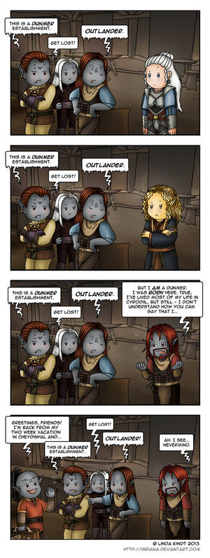 Morrowind: Outlander